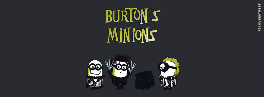 Tim Burtons Minions Despicable Me Beetle Juice Jack Skellington Edward Scissorhands  Facebook cover