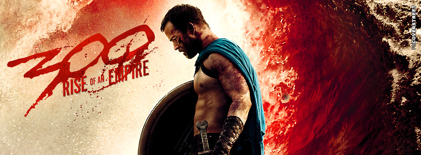 300 Rise of An Empire Facebook Cover