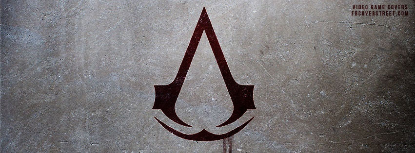 Assassins Creed Logo 3 Facebook Cover