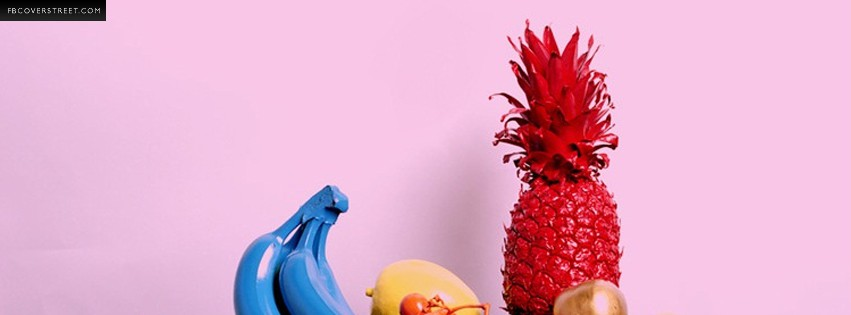 Painted Fruit  Facebook Cover