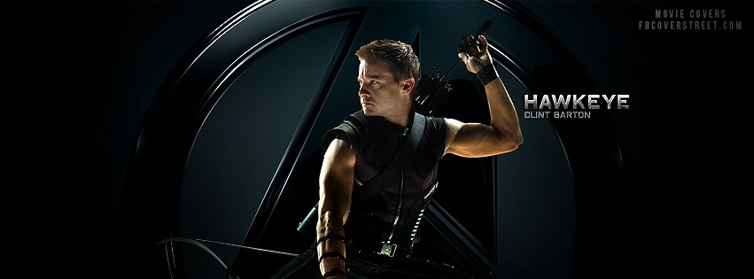 The Avengers Hawkeye Facebook Cover