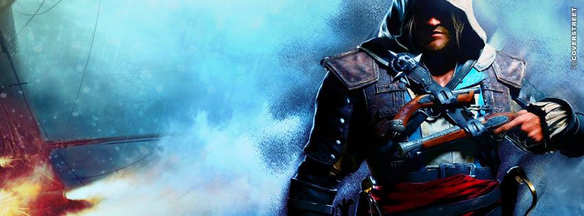 Assassins Creed IV Black Flag  Facebook Cover