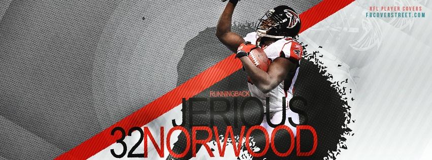 Jerious Norwood Atlanta Falcons Facebook cover