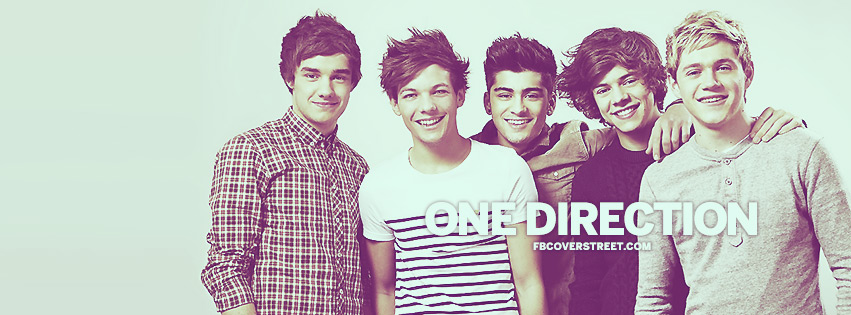 One Direction Band Members Facebook Cover