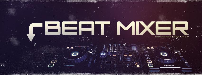 Beat Mixer Facebook Cover