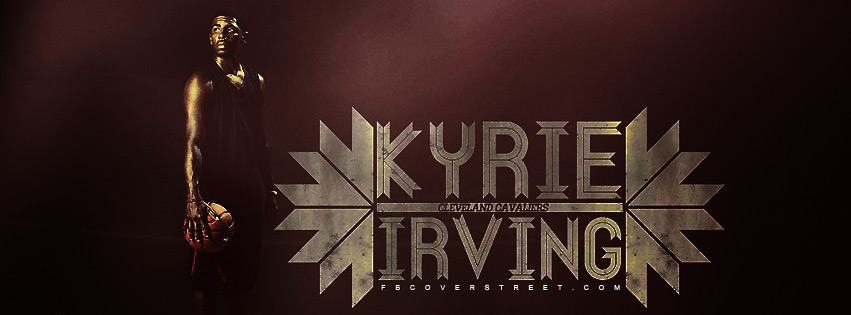 Kyrie Irving Cleveland Cavaliers 3 Facebook cover
