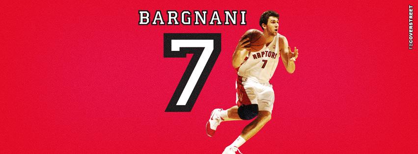 Toronto Raptors Andrea Bargani  Facebook Cover