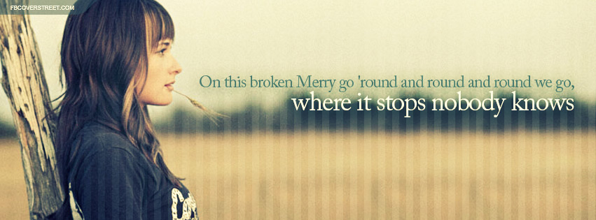 Kacey Musgraves Merry Go Round Lyrics Facebook Cover Fbcoverstreetcom