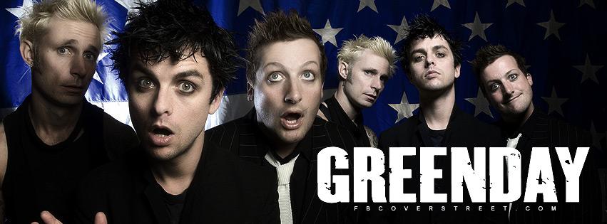 Green Day 2 Facebook Cover