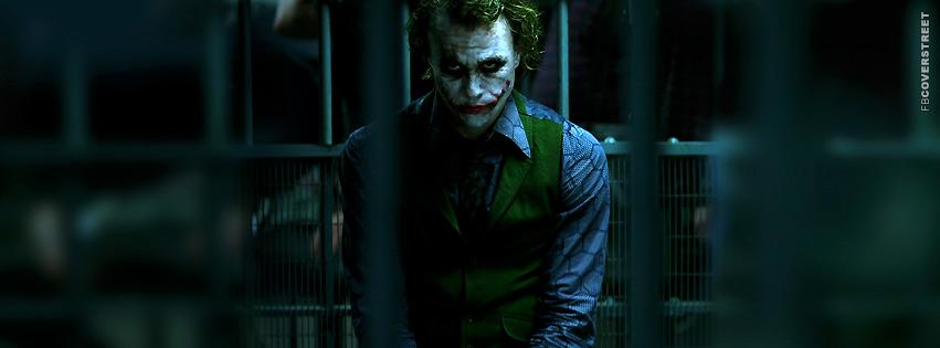 The Joker In Jail  Facebook Cover