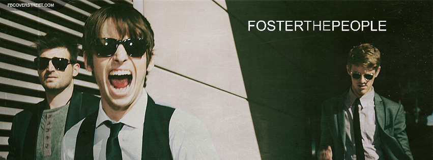 Foster The People Band Photo Facebook cover
