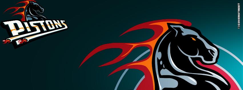 Detroit Pistons Logo FB Cover  Facebook Cover