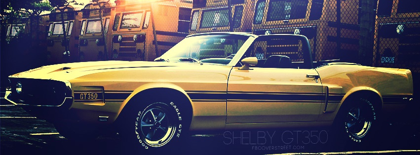 Ford Shelby GT350 Facebook Cover