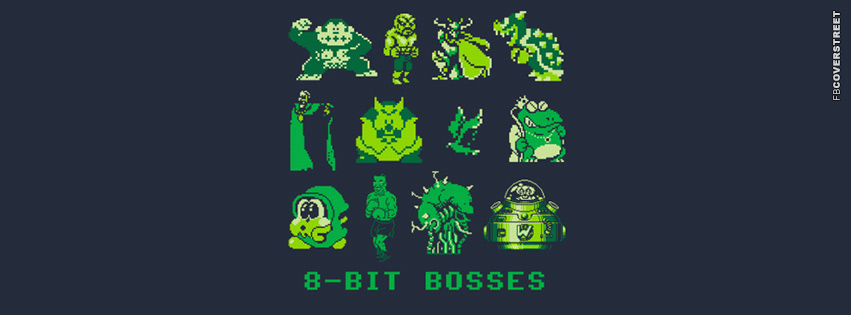 8 Bit Bosses  Facebook cover