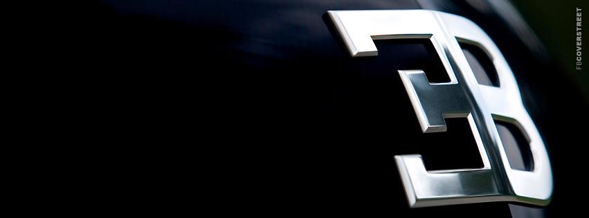 Bugatti Logo  Facebook cover