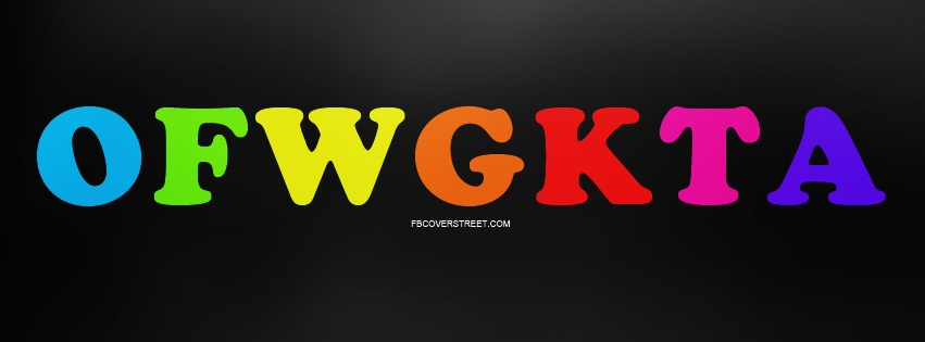 OFWGKTA Rainbow Logo Facebook Cover