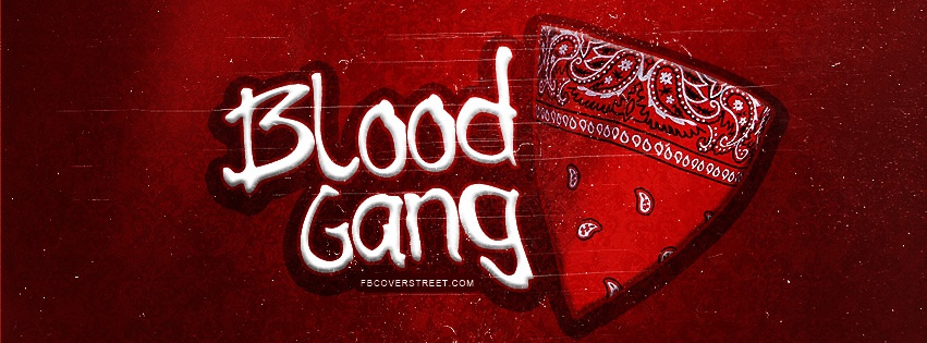 Blood Gang Facebook Cover