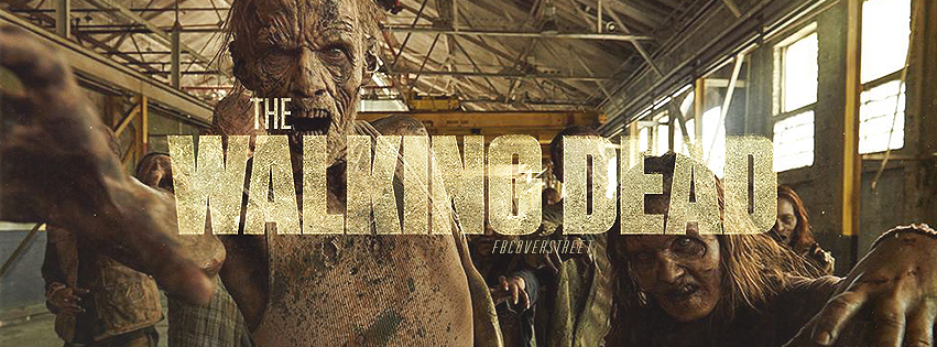 The Walking Dead Season 5 Terminus Zombies Facebook Cover