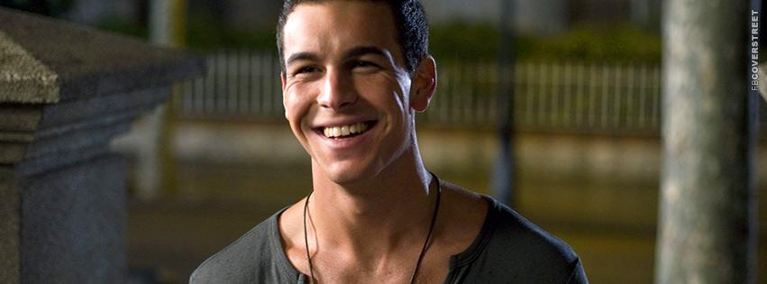 Mario Casas Model Smiling Facebook cover