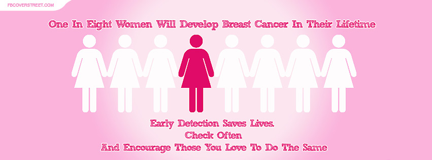 Breast Cancer Statistics Figures Facebook Cover
