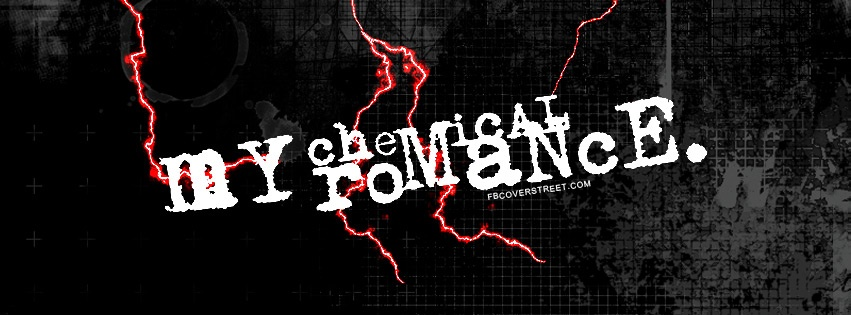 My Chemical Romance Logo Facebook Cover
