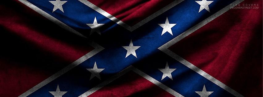 Confederate Flag Facebook Cover