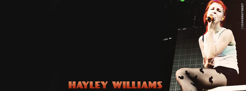 Hayley Williams Simple Facebook cover
