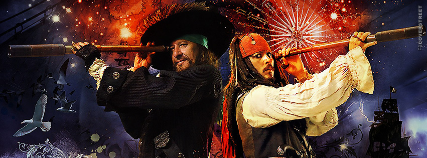 Pirates of the Caribbean Cover 1  Facebook cover