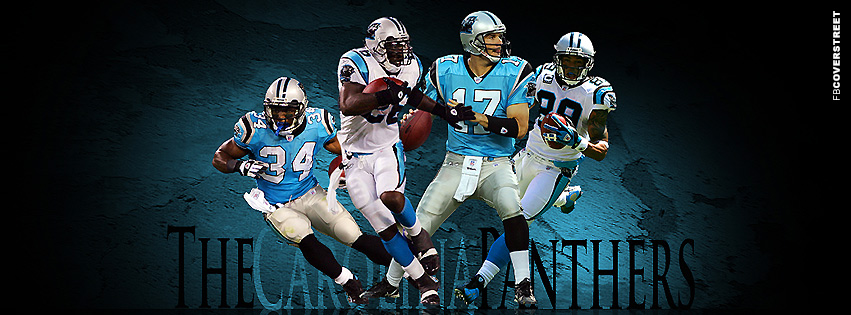 Carolina Panthers Team Facebook cover