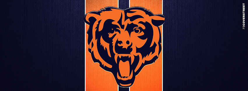 Chicago Bears Bear Logo Facebook cover