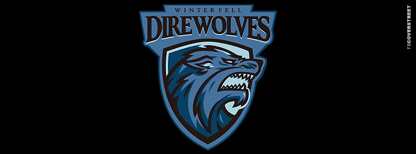 Winterfell Direwolves Game of Thrones  Facebook Cover
