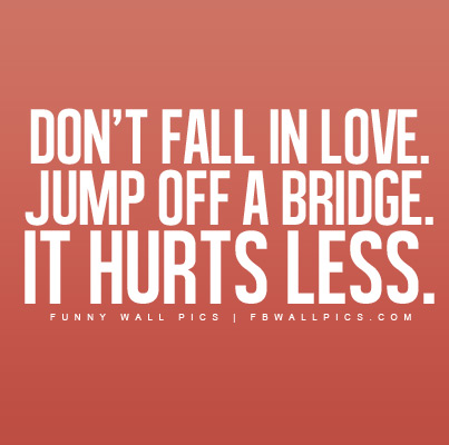 Dont Fall In Love Facebook picture