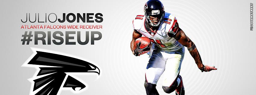 Atlanta Falcons Julio Jones FB Cover  Facebook Cover