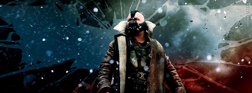 Bane Dark Knight Rises Facebook cover