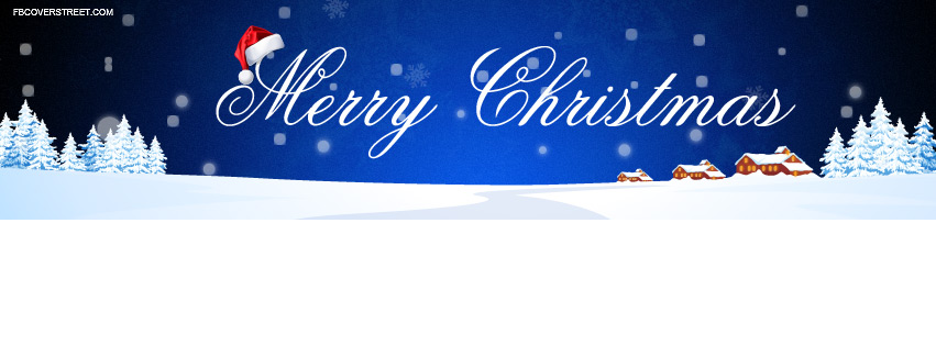 Nice Merry Christmas Cover 1 Facebook Cover