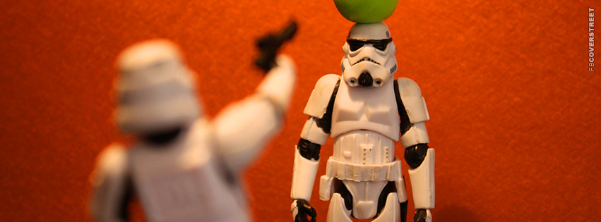 Storm Troopers Joking Around  Facebook cover