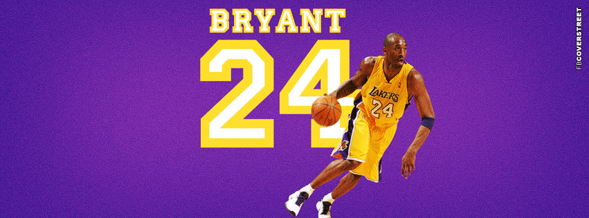 Los Angeles Lakers Kobe Bryant  Facebook cover