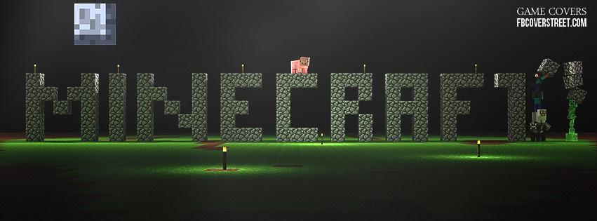 Minecraft 5 Facebook Cover
