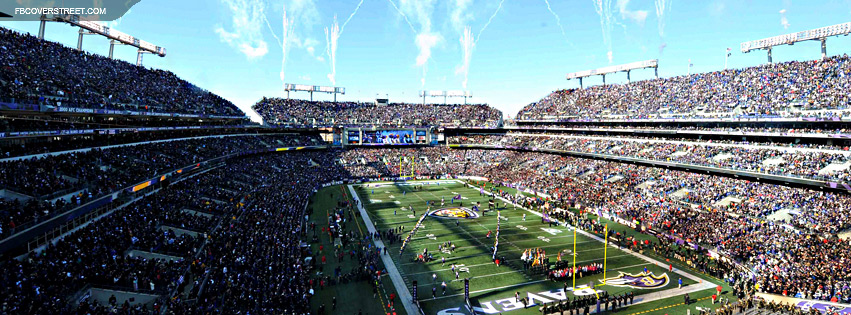 MT Bank Stadium Baltimore Ravens 3  Facebook cover