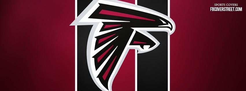 Atlanta Falcons Logo 2 Facebook Cover