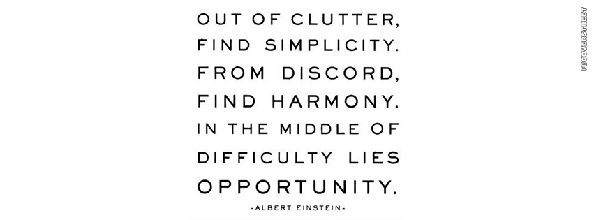 Albert Einsteins Advice  Facebook cover
