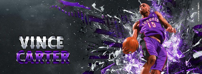 Toronto Raptors Vince Carter Facebook Cover