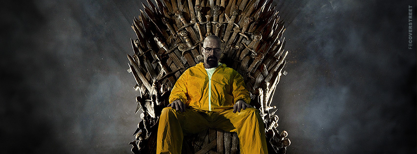 Heisenberg Game of Thrones Breaking Bad Facebook Cover