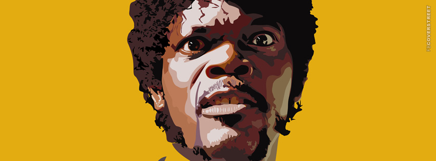 Samuel L Jackson Pulp Fiction Facebook cover