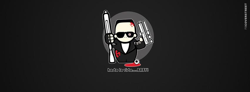 Hasta La Vista Gangnam Style  Facebook cover
