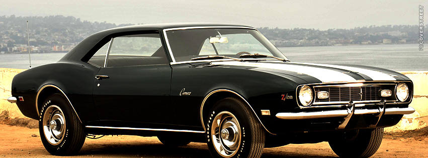 Old School Chevrolet Camaro  Facebook cover