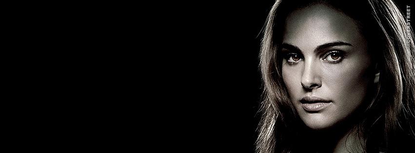 Natalie Portman Portrait Photo Facebook cover