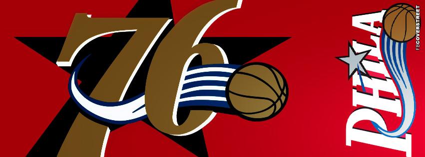 Philadelphia 76ers Logo Facebook Cover 4  Facebook cover