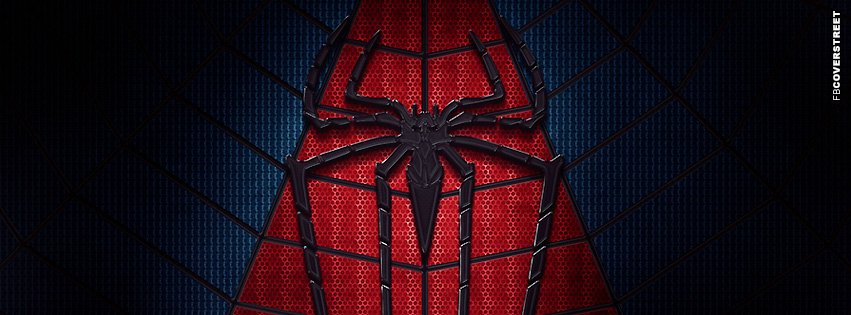 Spiderman Chest Symbol Facebook cover