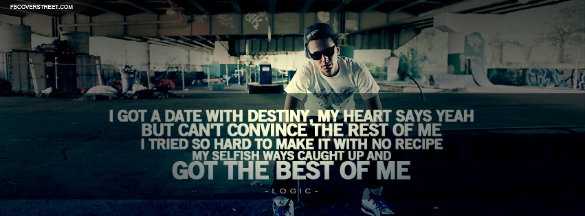 Logic Inception Lyrics Facebook Cover